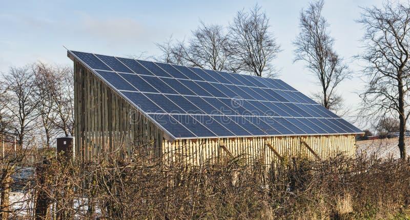 太阳能面板 免版税库存照片