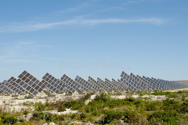 太阳能驻地 免版税库存照片