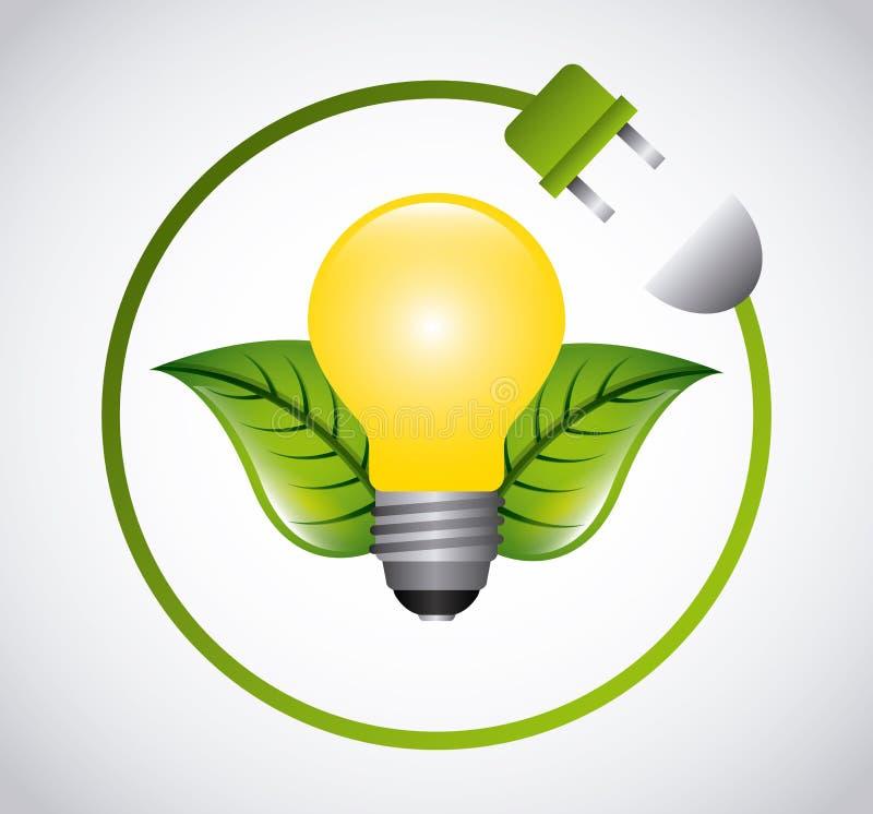 Download 太阳能 向量例证. 插画 包括有 节省额, 晒裂, 插件, 例证, 生态, 想法, 概念, 叶子, bulfinch - 59100083
