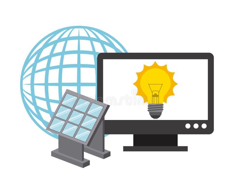 Download 太阳能 向量例证. 插画 包括有 晒裂, 技术, 概念, 自然, 回收, 能源, 环境, 图象, 社区, 干净 - 59100136