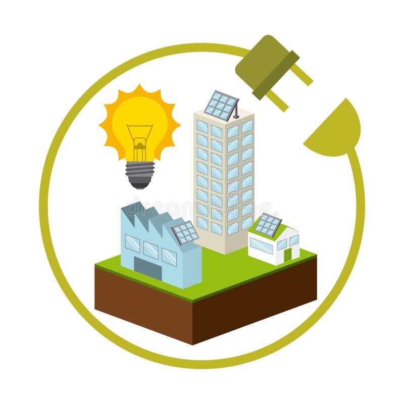 Download 太阳能 向量例证. 插画 包括有 抽象, 生态, 布琼布拉, 生物, 连接, 生态学, 图标, 能源, 要素 - 59100309
