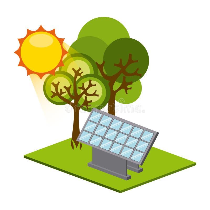 Download 太阳能 向量例证. 插画 包括有 图象, 想法, 向量, 横向, 晒裂, 面板, 生态, 抽象, 生物, 技术 - 59100464