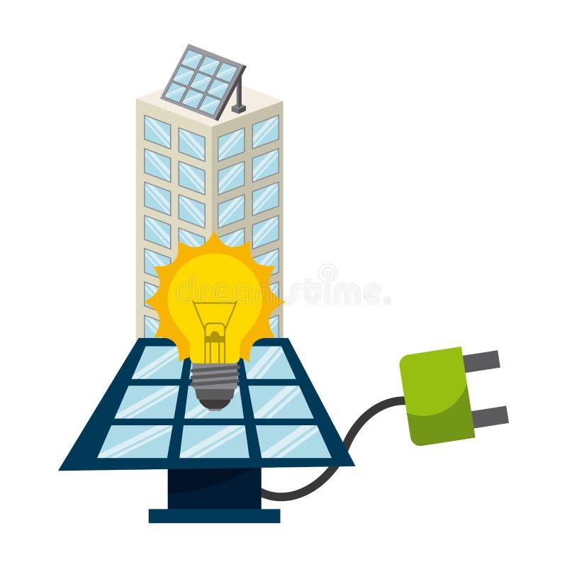 Download 太阳能 向量例证. 插画 包括有 生态, 自然, 干净, 太阳, 回收, 节省额, 向量, 连接, 布琼布拉 - 59100546