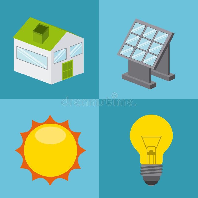 Download 太阳能 向量例证. 插画 包括有 面板, 可延续, 社区, 太阳, bulfinch, 生物, 向量, 概念 - 59100555