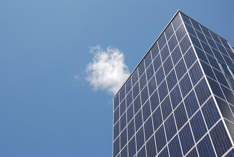 太阳节能的面板 免版税库存图片