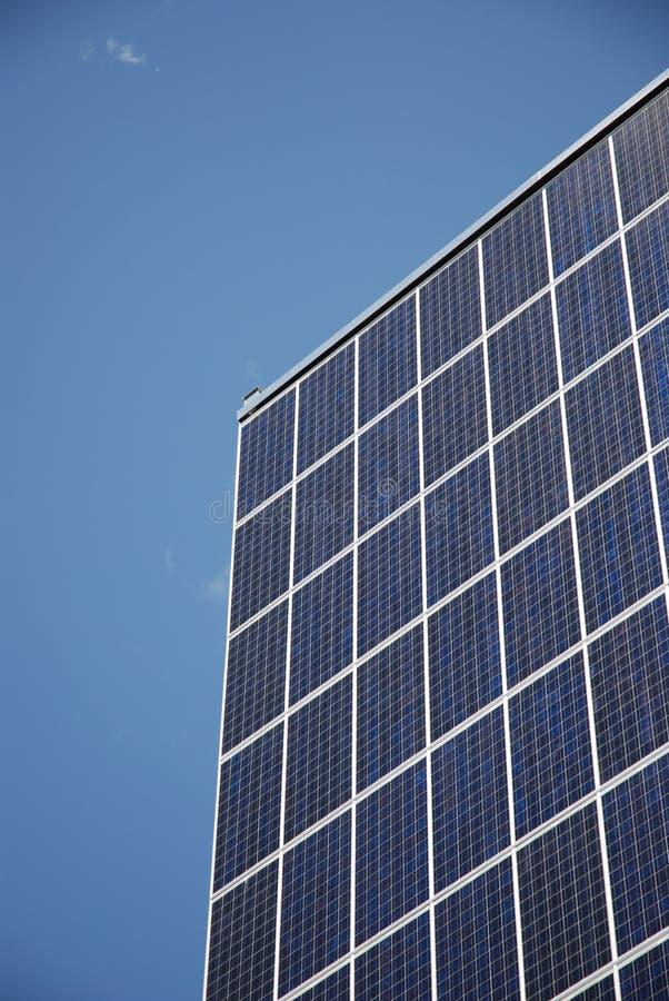 太阳节能的面板 免版税图库摄影