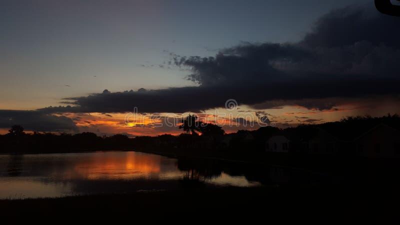 太阳表示 库存照片
