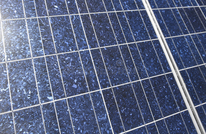 太阳详细资料的面板 免版税库存图片