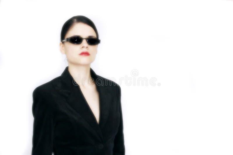 太阳镜妇女年轻人 图库摄影