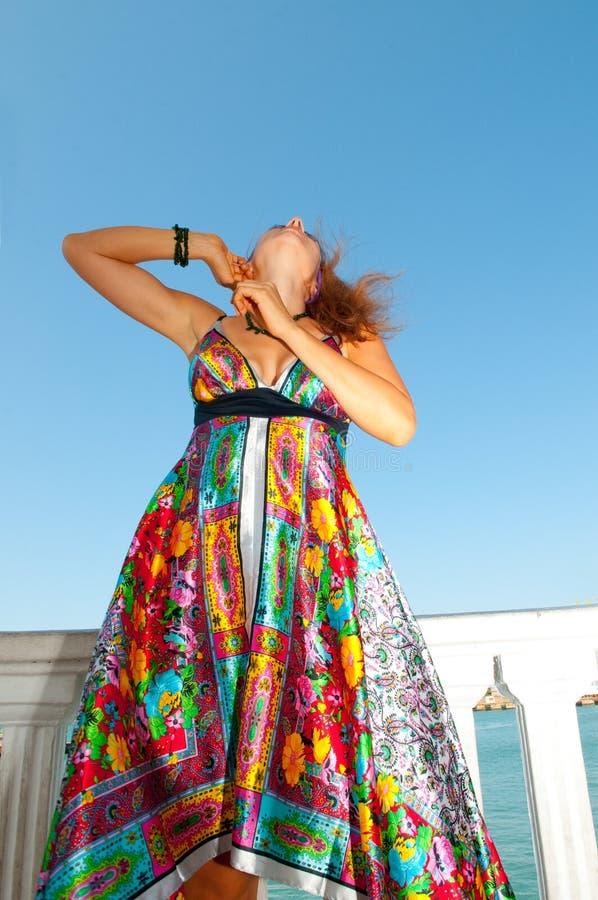 太阳镜妇女 图库摄影