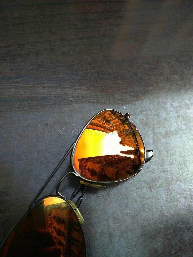 太阳镜 库存图片