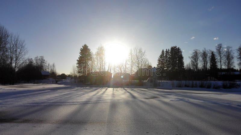 太阳阴影 免版税库存照片