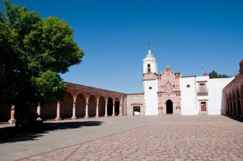 夫人我们的patrocinio寺庙zacatecas 图库摄影