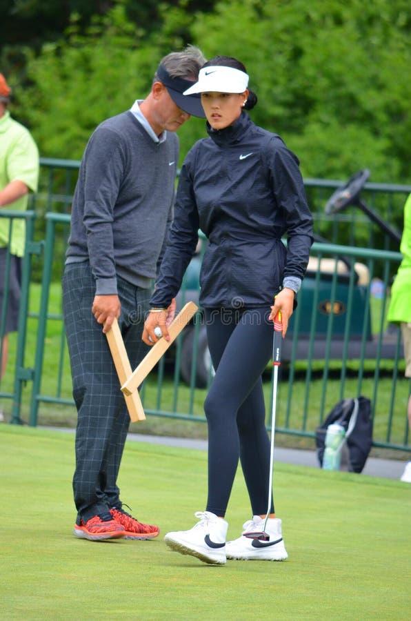 夫人职业高尔夫球运动员魏圣美毕马威妇女的PGA冠军2016年 库存图片