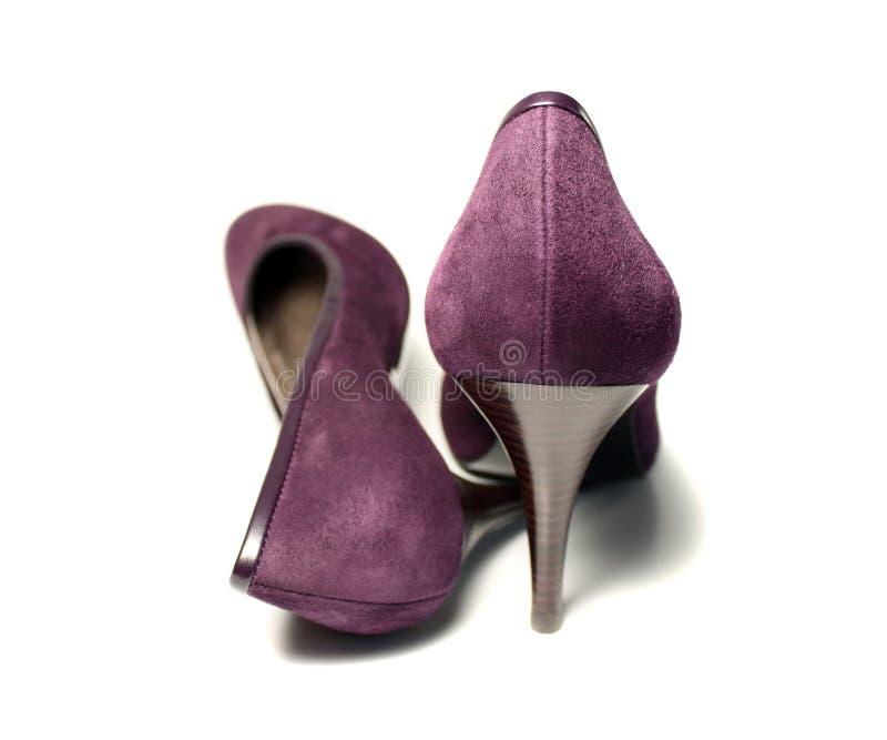 夫人鞋子 免版税库存图片