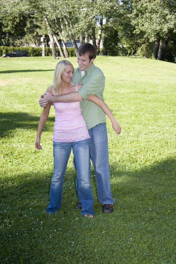 夫妇公园 库存图片