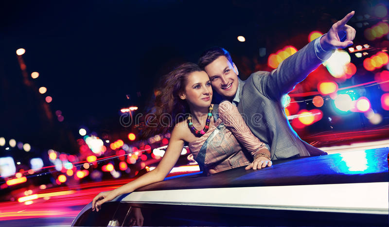 夫妇典雅旅行 图库摄影