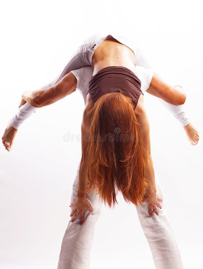 Download 夫妇在演播室 库存照片. 图片 包括有 体育运动, 空白, 杂技演员, 肉欲, 女性, 头发, 运动员, 信任 - 30338530