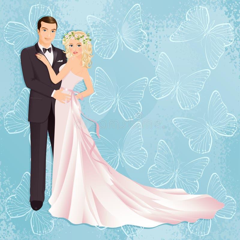 夫妇婚礼 皇族释放例证