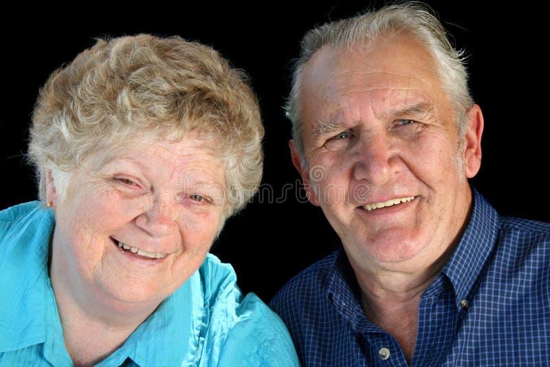 夫妇已婚前辈 图库摄影