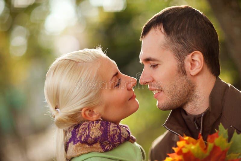 夫妇年轻人 库存图片