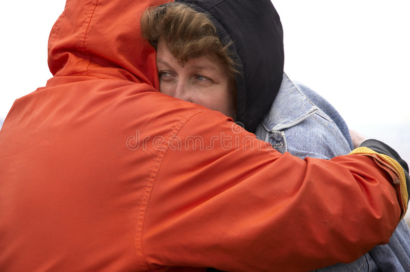 夫妇无家可归者 免版税库存图片