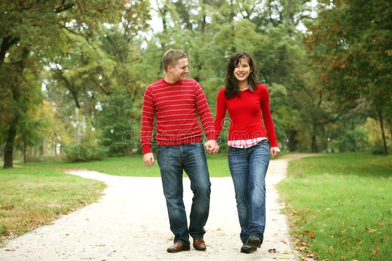 夫妇浪漫系列 库存照片
