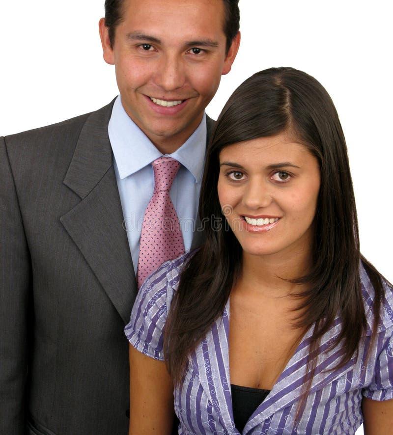 夫妇爱的年轻人 库存照片