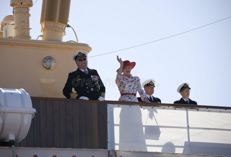 夫妇皇家的丹麦 库存图片