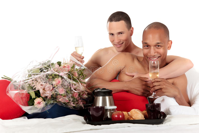 夫妇种族同性恋者混合 库存照片