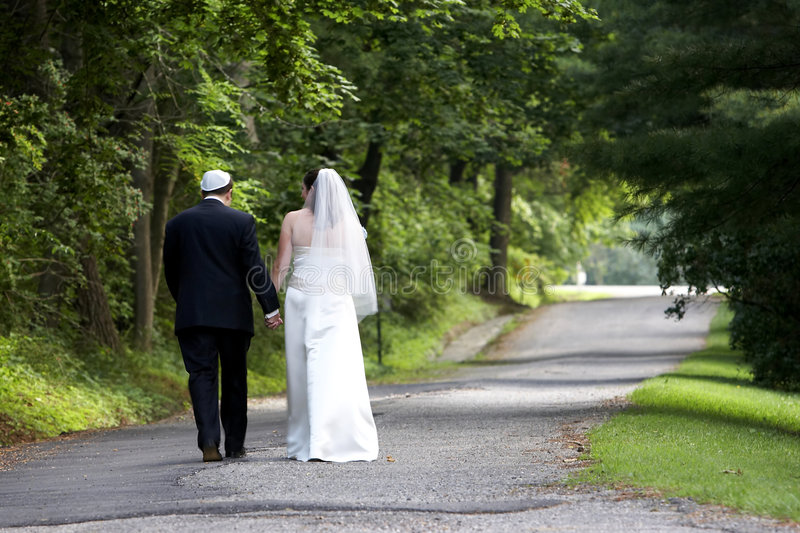 夫妇系列婚礼 库存图片