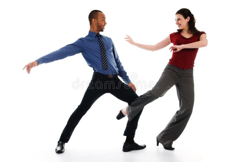夫妇跳舞 库存图片