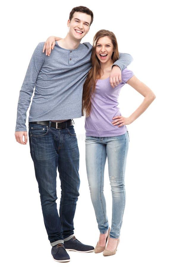 年轻夫妇身分 图库摄影