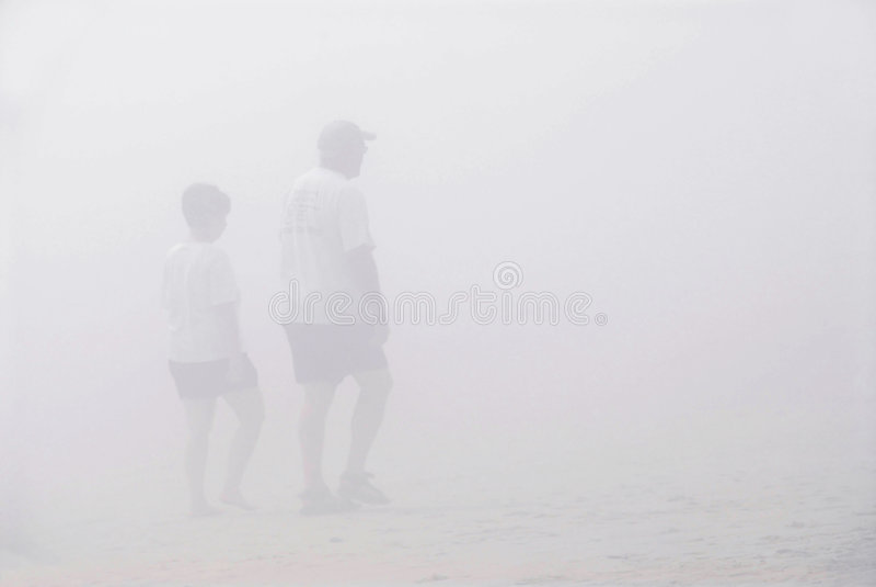 夫妇雾结构 免版税库存图片