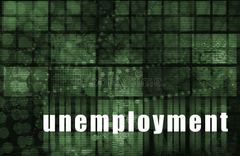 失业 库存例证