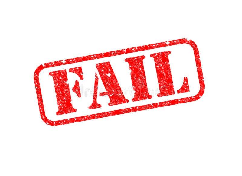 失败印花税 向量例证