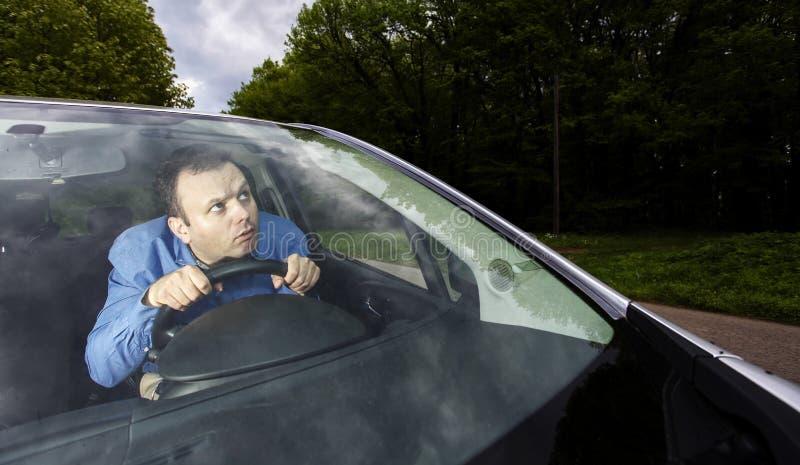 失去的司机 免版税图库摄影