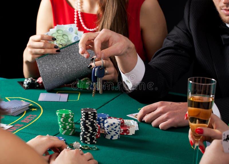 失去的赌博娱乐场汽车 免版税库存图片