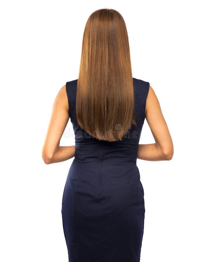 头发秀丽模型 图库摄影