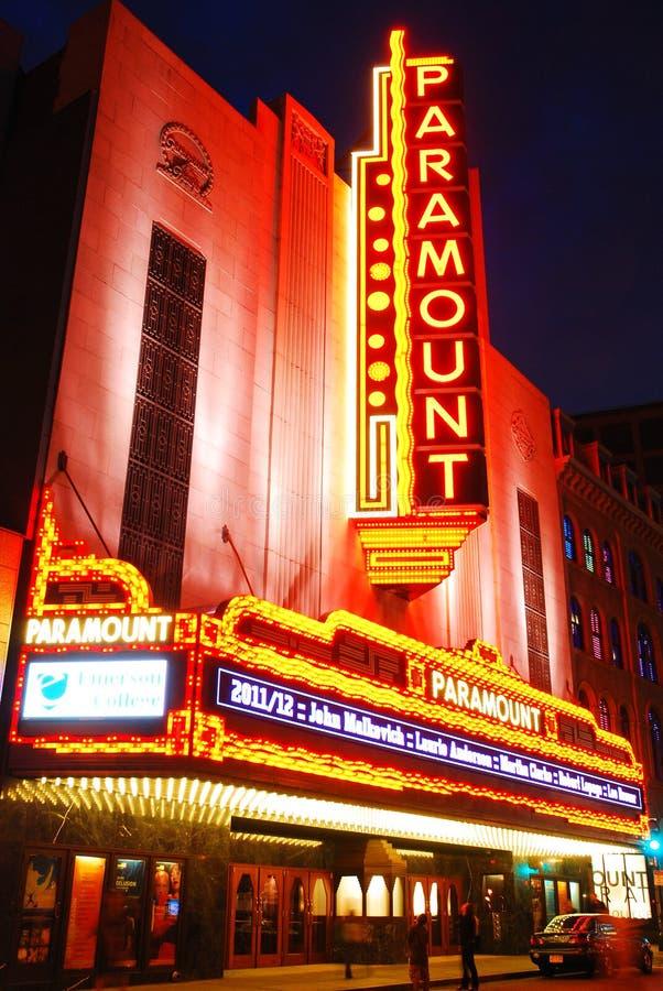 头等剧院,波士顿 库存照片