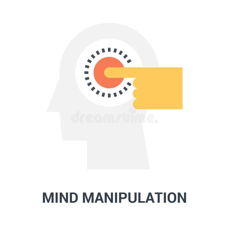 头脑操作象概念 库存例证