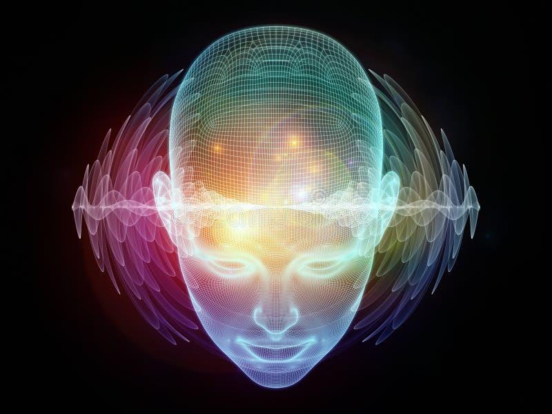 头脑能量 皇族释放例证