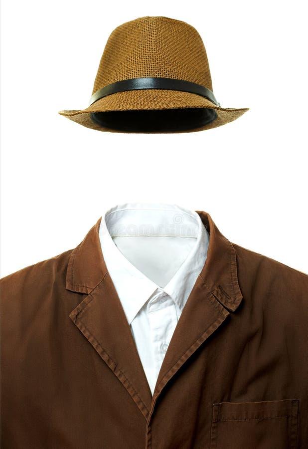 夹克和帽子 库存照片