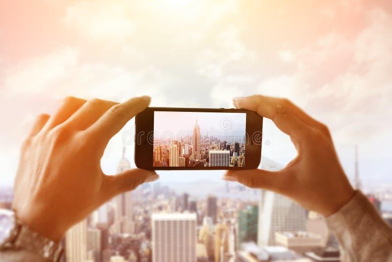 夺取纽约 库存图片