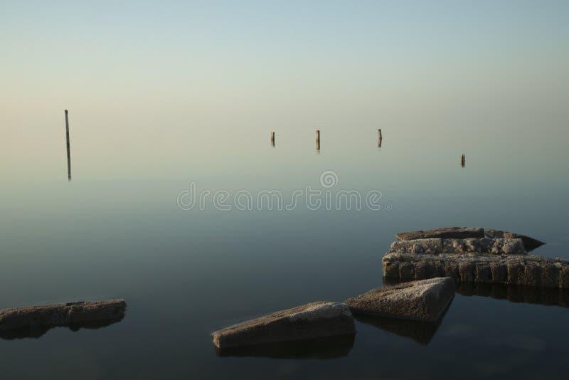 奇基塔湖,科多巴 库存图片