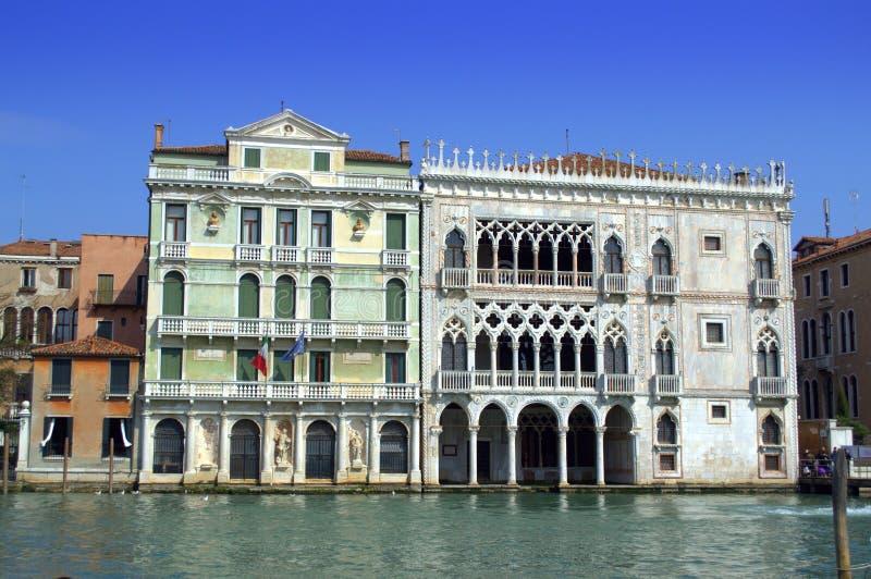 奇妙威尼斯式宫殿 库存照片