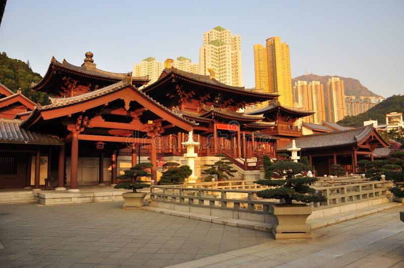 奇恩角李女修道院,香港 免版税库存图片