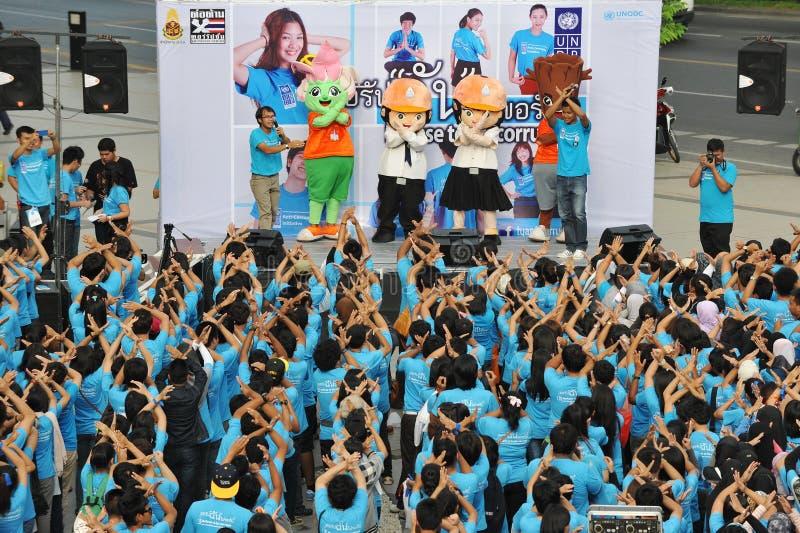 奇特的集会在曼谷