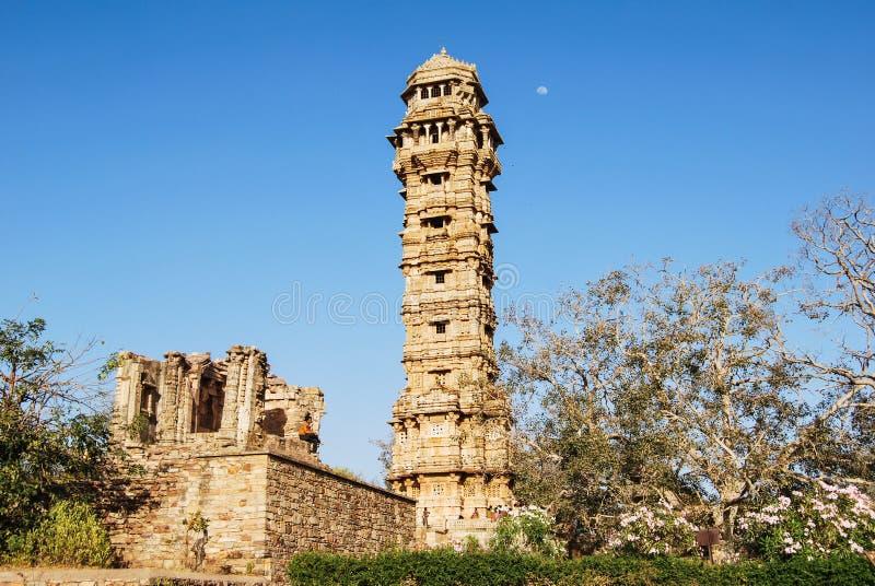 奇陶尔加尔堡垒,拉贾斯坦,印度 库存照片