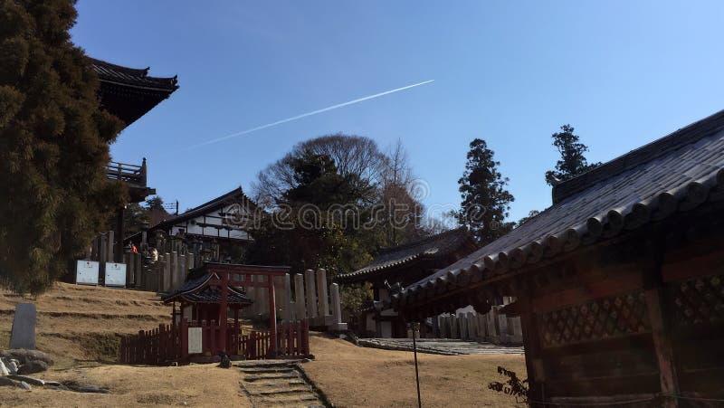 奈良寺庙公园 库存图片